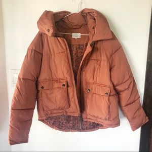 Jackets & Blazers - NUMPH puffy zip up jacket🙌🏼🌈